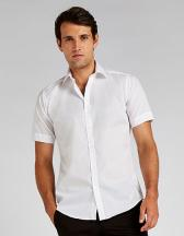 Men`s Slim Fit Business Shirt Short Sleeve